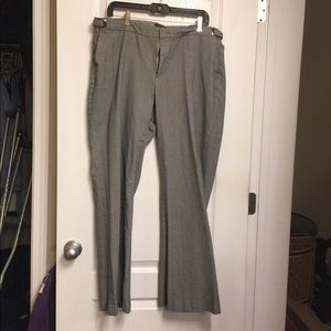 Ladies Gap Plaid Dress Pants Size 16